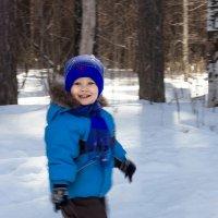 Сын в лесу :: Юлия Уткина