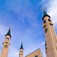 Нижнекамская мечеть. :: Геннадий Федоров