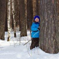 Ребенок в лесу :: Юлия Уткина