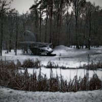 Зимний парк :: Георгий Столяров