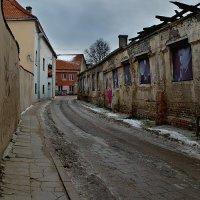 Январь в городе... :: Георгий Столяров