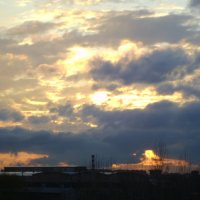 Палитра заката... :: Диля Урыксыбаева