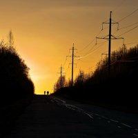 Догоняя солнце. :: Валерий Молоток