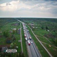 Трасса М10 (Москва - С.Петербург) в д.Мясной Бор :: Павел Москалёв