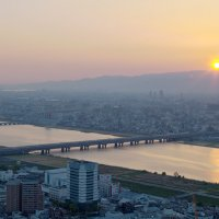 Закат в Осака :: Sergei Khandrikov