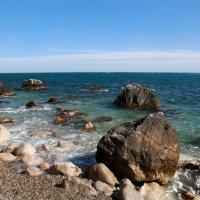 Самое синее в мире Черное море мое. :: Нилла Шарафан