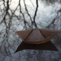 Бумажный кораблик :: Татьяна Копосова