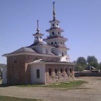 Хошеутовский хурул (Речное Астраханской области) :: Наталья Джанджеева