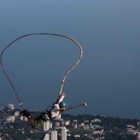 Прыжки над городом :: Марина Дегтярева