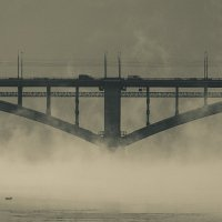 мост в тумане :: Денис Иванов