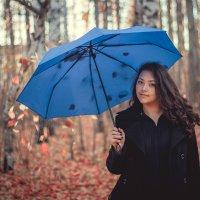 Под зонтом :: Анастасия Хорошилова