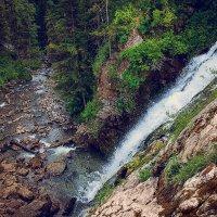 Пещерский водопад :: Сергей Белявцев