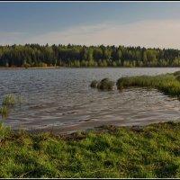 пейзаж с озером :: Дмитрий Анцыферов