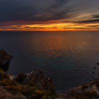 Крымский закат :: Владимир Колесников