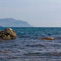Крым, на камнях :: Юрий Морозов