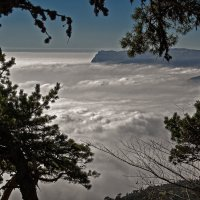 Ялта под облаками... :: Ирина Шарапова