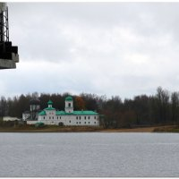 Река Великая. Вид на Мирожский монастырь. :: Fededuard Винтанюк