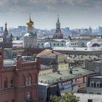 Московские крыши :: Борис Гольдберг