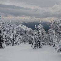 зима в горах 2 :: Константин Трапезников