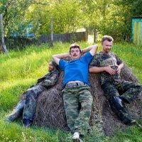 отдых после дачных забот :: Александр Прокудин