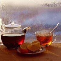 Чай на зимнем окне :: Сергей Чиняев