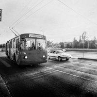 Великий транспорт в великом городе ! :: Мария Буданова