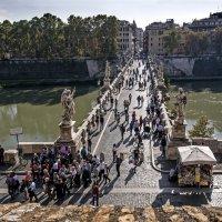 Рим. Мост через Тибр :: Виталий Авакян