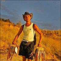 Продавец рыбы :: Александр