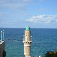 Старый Яффо. Вид на Средиземку :: Ефим Хашкес