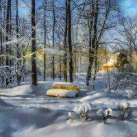 Занесённая снегом. :: Василий Ярославцев