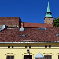 Гвардия в крепости Акерсхюс :: Ольга