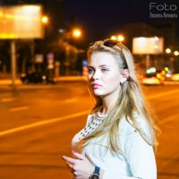 Ночной город. Яркие краски, огни :: Евгения Новикова