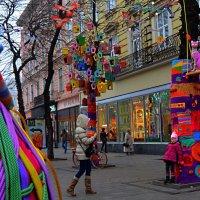 «Новый магазин сладостей в городе Львов» :: Aleks Nikon.ua