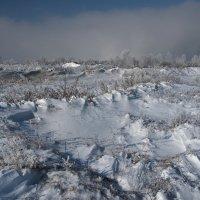 Почти космический пейзаж мы видим после снегопада... :: Александр Попов