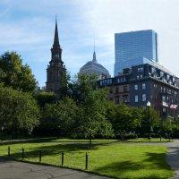 Arlington Street Church (унитарианская церковь на ул. Arlington), Бостон :: Юрий Поляков