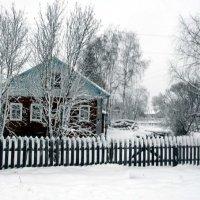 Всю ночь падал мокрый снег... :: Николай Туркин