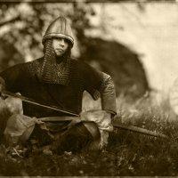 Русский средневековый воин. :: Фёдор Куракин