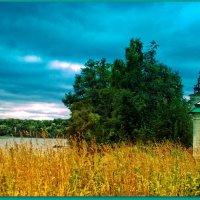 У стен Сийского монастыря :: Виктор Заморков