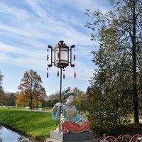 Фонарь на китайском мосту :: Светлана Логинова