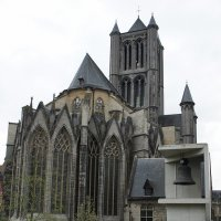 Собор святого Николая –  образчик шельдской готики :: Елена Павлова (Смолова)