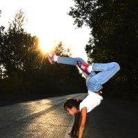 Прекрасная гимнастка :: Евгения Голубцова