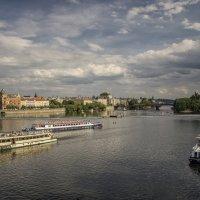 Прага. Влтава. :: Марина Назарова