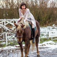 На коне невеста. :: Александр Лейкум