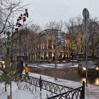 Первый снег был наивен до слёз... :: Ирина Данилова