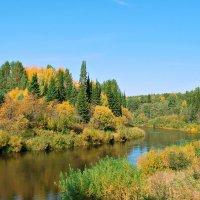 Осенний день на реке :: Александр Архипкин