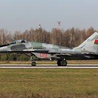 28 октября 2014 года. Взлет МиГ-29 №09. Барановичи (UMMA) :: Сергей Коньков
