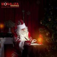 Новогодний портрет Деда Мороза :: Ирина Митрофанова студия Мона Лиза