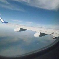 Вис с самолета :: Лидия Гаранина