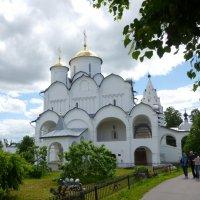 Собор Покрова Пресвятой Богородицы  в Покровском женском  монастыре  Суздаля :: Galina Leskova