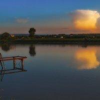 Закат над озером :: M Marikfoto